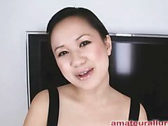 Carmina is a gorgeous twenty year old Oriental student, with a cute little body and an extreme longing for rod. It appears that Carmina has sucked off anent fifty guys! That's a large number for anybody still in college. This Babe is too blessed with not having a gag reflex so that babe is able to take a wang down her mouth out of an issue. Amazing! After that babe unfathomable mouths my ramrod numerous times, I bow her over and fuck her constricted little shaved fur pie. This Babe wants my load in her mouth, so shen gets on her knees and recieves my full cum discharged into her mouth and swallows it down. This Babe is a fantastic schlong sucker and a great fucking lay.