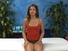 Sexy hawt chick bonks and sucks her massage psychologist