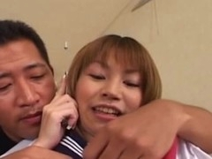 After giving a tender oral-job, this Japanese legal adulthood youthful schoolgirl enjoys her first jock in her constricted and wet Oriental cunt. This juvenile floosie gets deeply fucked from behind and love it!